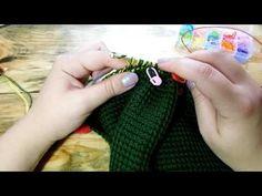 Штаны тунисским вязанием для девочки  4 часть - YouTube