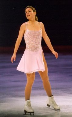 Josée Chouinard competing in the 2001 Hallmark Championships. Photo by Andre Chempinski.