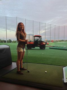 Trying our luck @ Top Golf