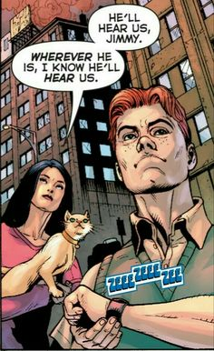 Jimmy Olsen and Lois Lane looking for Superman Dc Icons, Jimmy Olsen, Christopher Reeve, Best Superhero, Lois Lane, Clark Kent, Smallville, Man Of Steel, Supergirl