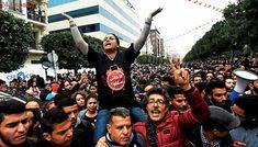 Un muerto en Túnez durante las protestas sociales contra la situación económica