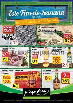 Folheto Pingo Doce - Promoções e Descontos de 30 de Janeiro a 2 de Fevereiro - Este fim de semana