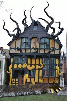 Cthulu's house  Micoleys picks for #StrangeBuildings  www.Micoley.com