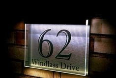 c75e1dc9a94d Image result for Unusual Business Signs House Numbers Uk, House Number  Plaque, Solar House