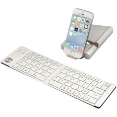 Use an iPhone 6 Plus bLuetooth keyboard for increased productivity.