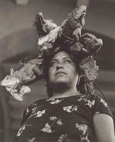 Lady of the Iguanas?