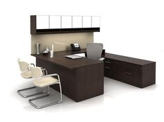 Masters Series Desk and Zody Task Chair - Haworth