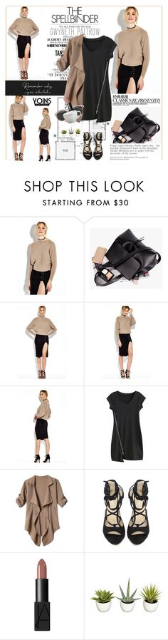 """""""YOINS Style 10/10"""" by mars ❤ liked on Polyvore featuring Gwyneth Shoes, Chanel and NARS Cosmetics"""