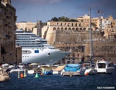 Valletta Grand Harbour Malta - Thanks to @delphwynd for the #photo - Tag your…