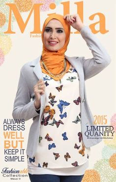 Mixing and matching hijab Milla spring fashionable outfits http://www.justtrendygirls.com/milla-spring-fashionable-outfits/