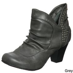 @Overstock - Boot up for the cold weather with these black Sam and Libby boots, ideal for pairing with almost anything. These studded boots feature a chunky heel for ultimate comfort, a round-toe design, and stylish embellishments for added sparkle.http://www.overstock.com/Clothing-Shoes/Sam-Libby-Womens-Bigtrend-Bootie/6640880/product.html?CID=214117 $23.99
