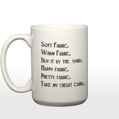 Soft Fabric Warm Fabric 15 oz Coffee Mug