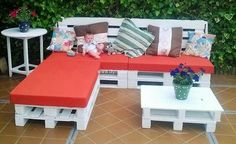 pallets wood patio furniture