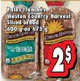 Coupons et Circulaires: 2$ pain tranché COUNTRY HARVEST