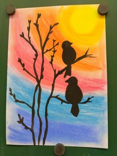 Art Drawings For Kids, Art For Kids, Autumn Art, Winter Art, 4th Grade Art, Caribbean Art, Ecole Art, Spring Art, Art Classroom