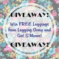 Win FREE leggings! www.getsmoore.com #giveaway