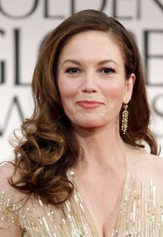Who says older women can't wear long hair? At age Diane Lane is still rocking big, bouncy curls in her long locks - proof that you should grow it out if you want to. Romantic Hairstyles, Casual Hairstyles, Celebrity Hairstyles, Easy Hairstyles, Hairstyle Ideas, Layered Hairstyles, Wedding Hairstyles, Haircuts For Long Hair, Long Hair Cuts
