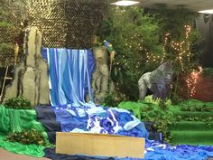 Waterfall jungle VBS