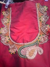 maggam work blouse designs - Google Search