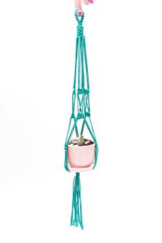 Macrame  Plant  Hanger 24 inches  Hanging by DanceOfTheSoul, $5.35
