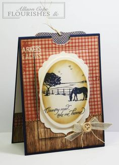 Country Roads ~ Birthday Wishes by thecircleguru - Cards and Paper Crafts at Splitcoaststampers