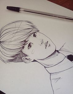 Exo d.o fan art --sahdbfowiebf I need to be a better artist. Seeing this, I am pretty much a Kriscasso at this point.