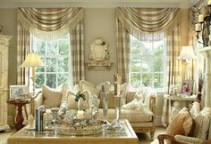 absolutely love this room.this is what I would like for my living room. Formal Living Rooms, My Living Room, Home And Living, Living Spaces, French Decor, French Country Decorating, Beautiful Interiors, Great Rooms, Decoration