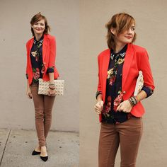 Floral Fall (by Veronica .) http://lookbook.nu/look/4170512-Floral-Fall