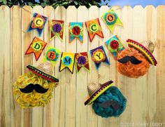 Get your Cinco de Mayo fiesta started with bright, festive decor!