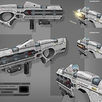 pathfinders shotgun -  done for goldhawk interactive by rmory studios