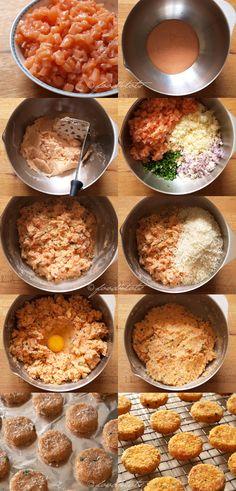 How to make salmon potato fish cakes