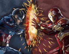 "Check out new work on my @Behance portfolio: ""Marvel Captain America Civil War"" http://be.net/gallery/38830547/Marvel-Captain-America-Civil-War"