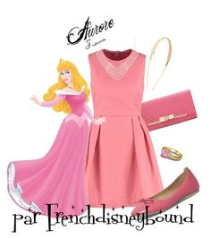 """Aurore (Sleeping Beauty)"" by frenchdisneybound ❤ liked on Polyvore featuring mode, Disney, Été Swim, women's clothing, women, female, woman, misses, juniors et disney"