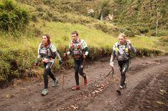 Huairasinch Adventure Race. Ecuador.  I like the front packs.  What brand are those?