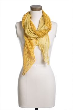 Type 3 Triangle Texture Scarf - New Arrivals