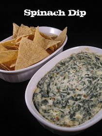 The Apron Gal: Spinach Dip