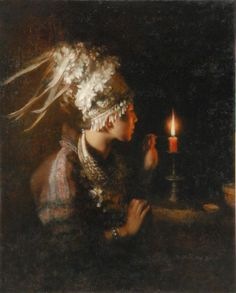 Chengxiang Qi or Qi Chengxiang and the candlelights Chengxiang Qi was born in 1952 in China. After graduating from t. Classic Paintings, Contemporary Paintings, Beautiful Paintings, Hyperrealistic Art, Parables Of Jesus, Amadeus Mozart, Bible Illustrations, Bible Pictures, Catholic Art