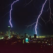Seattle, Washington, specifically to see lightning like THAT Seattle Wallpaper, Panoramic Photography, Sun And Clouds, Across The Universe, Lightning Strikes, Seattle Washington, Extreme Weather, Science And Nature, Wallpaper Backgrounds