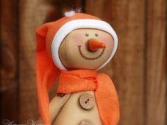 Кофейный Снеговичок. | Ярмарка Мастеров - ручная работа, handmade