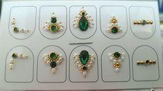 Cartelinha com 5 pares de jóias de unha! Luxo puro ! FRETE GRÁTIS a partir de 3 cartelas FRETE fixo 5,00 para quantidades menores