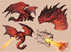 Mythical Creatures Art, Mythological Creatures, Fantasy Monster, Monster Art, Creature Concept Art, Creature Design, Fantasy Dragon, Fantasy Art, Tiamat Dragon