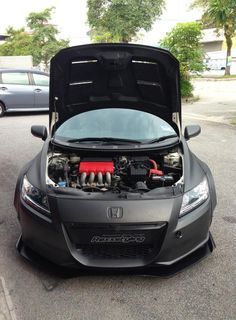 Honda CRZ demo car #allblackeverything