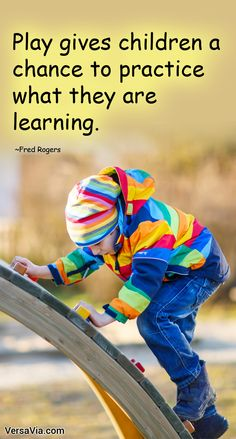 Play gives children a chance to practice what they are learning. Parenting Quotes, Parenting Hacks, Fred Rogers, Family Life, Motivational Quotes, Wisdom, Play, Learning, Words