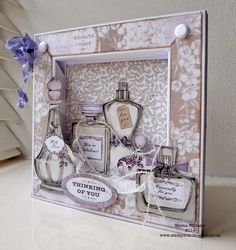 Craftwork Cards Blog      frame box card template and tutorial