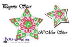 Tutorial X-Mas Star 3D Peyote Star + Basic Tutorial Little 3D Peyote Star (download link per e-mail) - DiMarca Online
