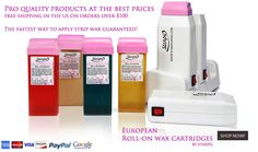 http://www.starpilwax.com/ Starpil offers best quality products at affordable rates.Roll on wax is one of the waxing product which is easy to use  and gives you best result. You buy it per dollar rates, no one provide. We have different offers. If you are looking for more useful information regarding waxing products then visit us