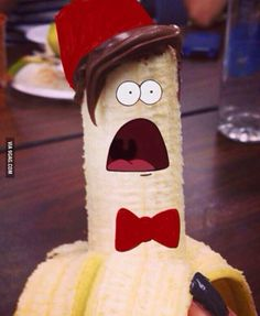 I think I found the greatest picture ever<------oh yes. <- Bananas are gooooood! ;-D