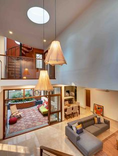 Gallery Of House Sampada / 1leapingfrog Studio   8 India House, Good House,  Living