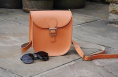 Peach leather