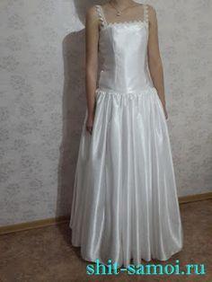 Шить самой: Выкройка платья на выпускной бал